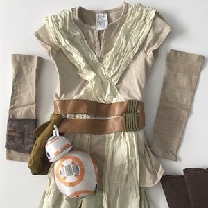 Disney Store Star Wars Rey Costume